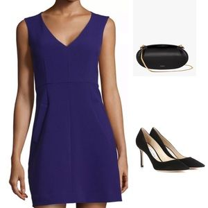DIANE VON FURSTENBERG PURPLE HAZE HALLE DRESS